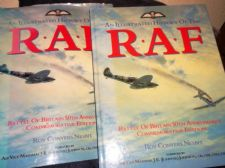 LARGE HB DC BOOK ILLUSTRATED HISTORY OF RAF ROY CONYERS NESBIT 1992